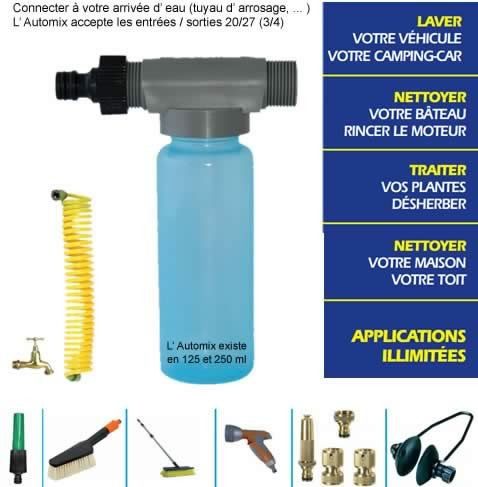 atomix stopsel dilution auto melangeur produit anti sel lavage nettoyage