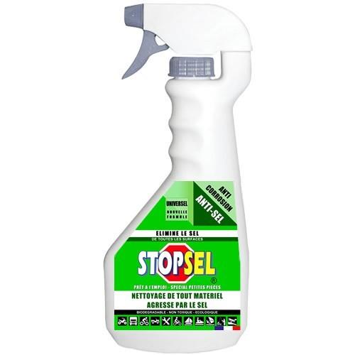 STOPSEL UNIVERSEL pulvérisateur prêt à l'emploi - protège du sel - tous matériaux