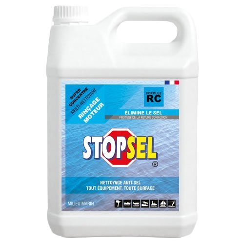 STOPSEL RC 5 litres - rince nettoie protège du sel
