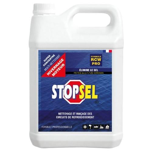 STOPSEL RCW - 5 litres - hivernage - nettoie et protège du sel